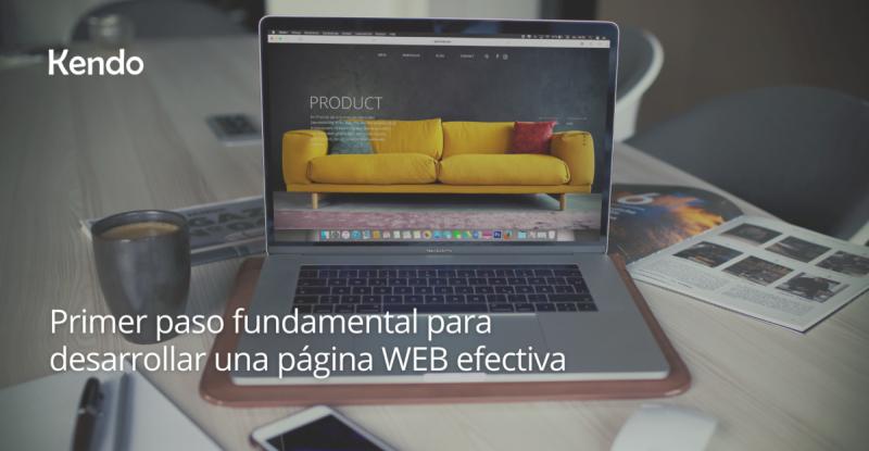 Primer paso fundamental para desarrollar una página WEB efectiva