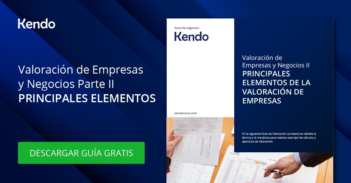 Valoración de Empresas y Negocios II – Principales elementos de la Valoración de Empresas